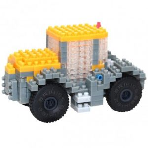 Brixies Nano Puzzle 3D - Tracteur JCB