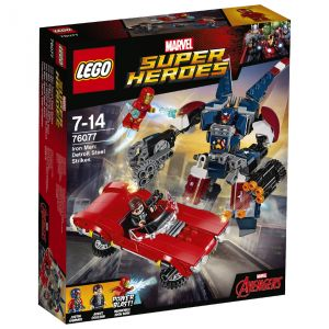 Lego 76077 - Marvel Super Heroes : Iron Man L'attaque de Detroit Steel