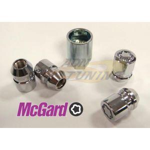 MC Gard Jeu de 4 écrous antivol 24157SU