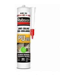 Rubson PU200 - Mastic polymère universel joint collage Marron - Cartouche de 280ml