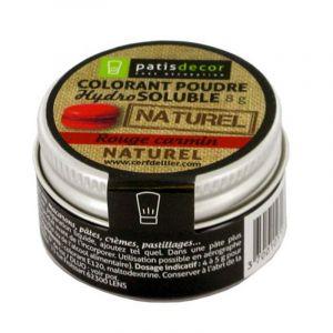 Patisdécor Colorant poudre - rouge carmin - 8 g
