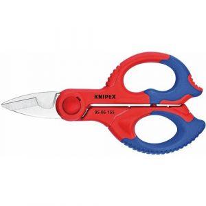 Knipex 95.05.155SB - Ciseaux inox d'électricien 155 mm