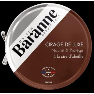 Baranne Cire pour Chaussures Luxe Marron - 75ml