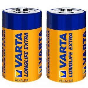 Varta Longlife 2 piles D (LR20) 1,5V