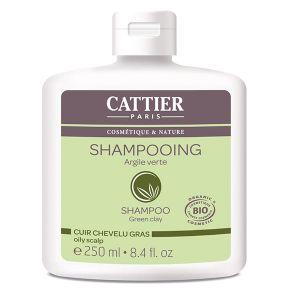 Cattier Shampooing a l'argile verte pour cheveux gras