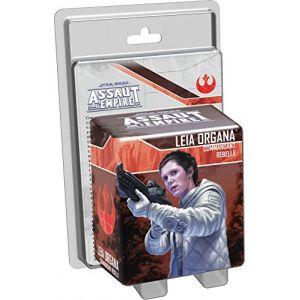 Asmodée Assaut Empire Star Wars Leia Organa Commandant Rebelle