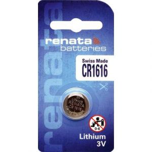 Renata Pile bouton CR 1616 lithium 50 mAh 3 V 1 pc(s)