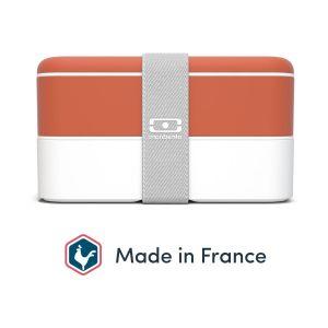 monbento Bento du quotidien Original orange 1 L Blanc