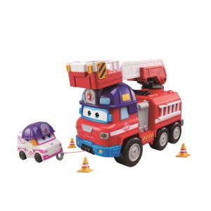 Auldey Camion de pompier Rescue Riders Super Wings
