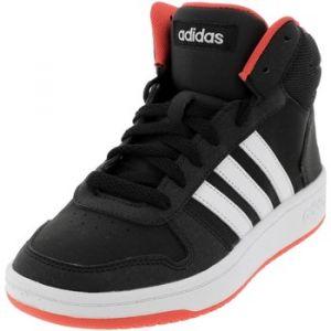 Adidas HOOPS MID 2.0 - NOIR - enfant - CHAUSSURES HAUTES