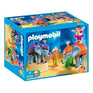 Playmobil 4235 - Enfants Et Acrobates Et Éléphant