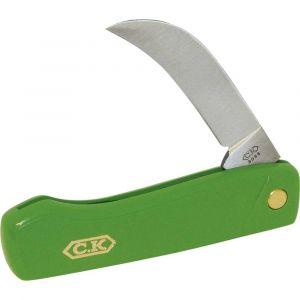 C.k Serpette couteau élagage repliable 95mm - Lame avec dos plat -