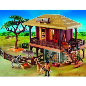 Playmobil 4826 - Centre de soins pour animaux sauvages