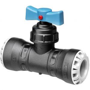 Plasson Vanne encliquetable tube PE Ø25 - Série 1