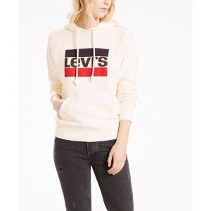 Levi's Graphic Sport Hoodie marshmallow (35946-0001)