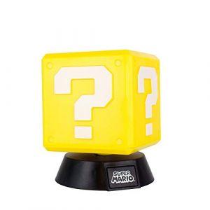 Paladone Lampe 3D Nintendo Super Mario Bloc Question 10 cm