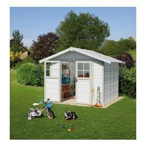 Image de Grosfillex Déco 4,9 - Abri de jardin en PVC 4,90 m2