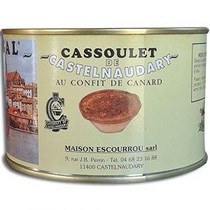 Escourrou Cassoulet de Castelnaudary au Confit de Canard 1190g