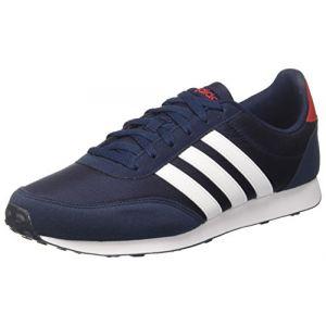 Adidas V Racer 2.0 Homme, Bleu (Collegiate Navy/FTWR White/Scarlet), 41 1/3 EU