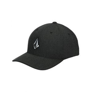 Volcom Full Stone Heather Xfit Poly - Casquette taille S/M, noir