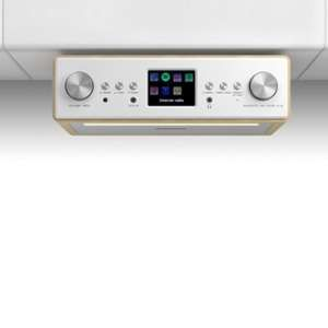 Auna Connect Soundchef - Radio encastrable Internet DAB+ FM enceintes 3