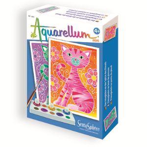 Sentosphère Aquarellum Mini : Chats