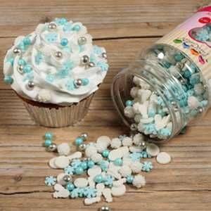 FunCakes Mélange de décors en sucre Reine des neiges