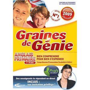 Graines de génie : Anglais Primaire 2009/2010 [Windows]