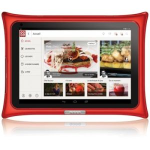 "Qooq V4 - Tablette tactile ""coach culinaire"" 10.1"" sous Android 5.0"