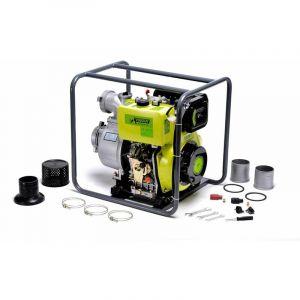 Varan Motors Pompe à eau Diesel Motopompe 4'' 406cc 10CV, Dém. Electrique, 96m3/heure, 31m max