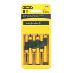 Stanley 4-66-052 - Coffret de 6 tournevis de précision
