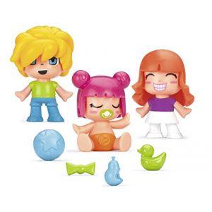 Famosa PINYPON - Pack de 3 Figurines de l'univers bébés - Modèle 4