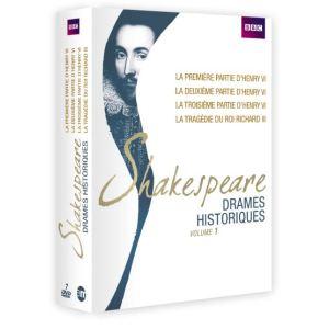 Coffret Shakespeare : Drames historiques Volume 1