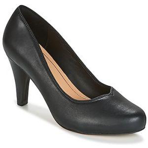 Clarks Dalia Rose, Escarpins Femme, Noir (Black Leather-), 39.5 EU