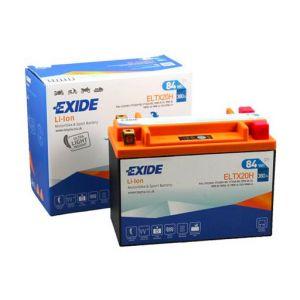 Exide Batterie moto YTX20L-BS Lithium Li-ion 12V 7AH 380A ELTX20H YTX20H-BS YTX20-BX YN16-B YB18-A