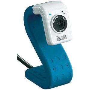 Hercules HD Twist - Webcam avec pied flexible et microphone intégré