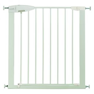 Munchkin Easy Lock - Barrière de sécurité enfant 72/80 x H75 cm