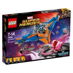 Lego 76081 - Marvel Super Heroes : Le vaisseau Milano contre l'Abilisk