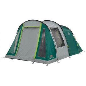 Coleman Tente Granite Peak 4, Grande Tente de Camping avec 2 Chambres, Toile de Tente 4 Personnes avec Technologie Blackout Bedroom, Tente Familiale 4 Places, Tente Tunnel avec Auvent
