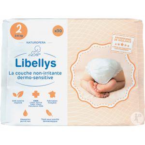Naturopera Libellys Couche Non-Irritante Dermo-Sensitive 3-6kg Taille 2