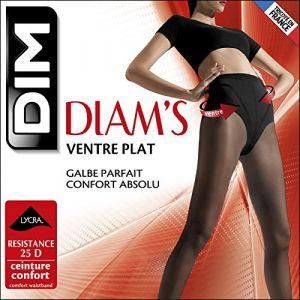 DIM Collant Ventre Plat Collant - Diam's - chocolat