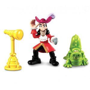 Fisher-Price Figurine Capitaine Crochet Jake Et Les Pirates