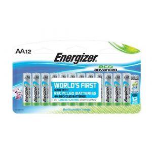 Energizer 12 Piles AA LR06 EcoAdvanced