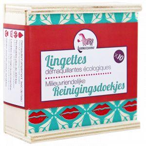 Lamazuna Lingettes démaquillantes écologiques 10 unités