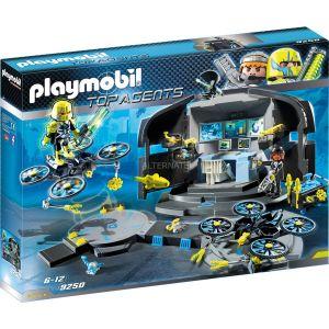 Image de Playmobil 9250 - Top agents : Centre de commande du Dr. Drone
