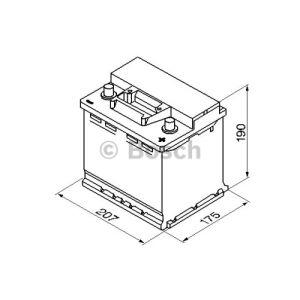 Bosch 0092S30020 - Batterie de démarrage