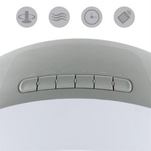 Klarstein Whirlwind 3-en-1 - Ventilateur rafraîchisseur humidificateur d'air 5,5 l 110W