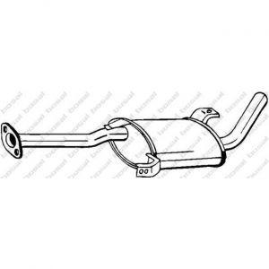Bosal Silencieux intermédiaire 145-185