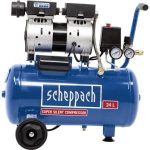 Scheppach Compresseur pneumatique 24 l 8 bar HC24Si