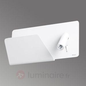 Faro 62124 SUAU USB - Lampe applique blanche avec lecteur LED gauche